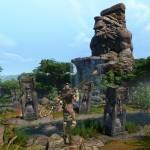 baboons cascades Panzar