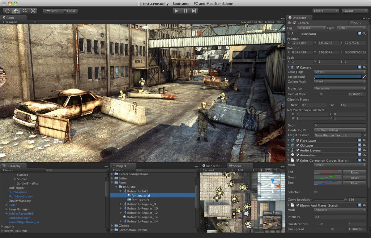 Unity 3D игры