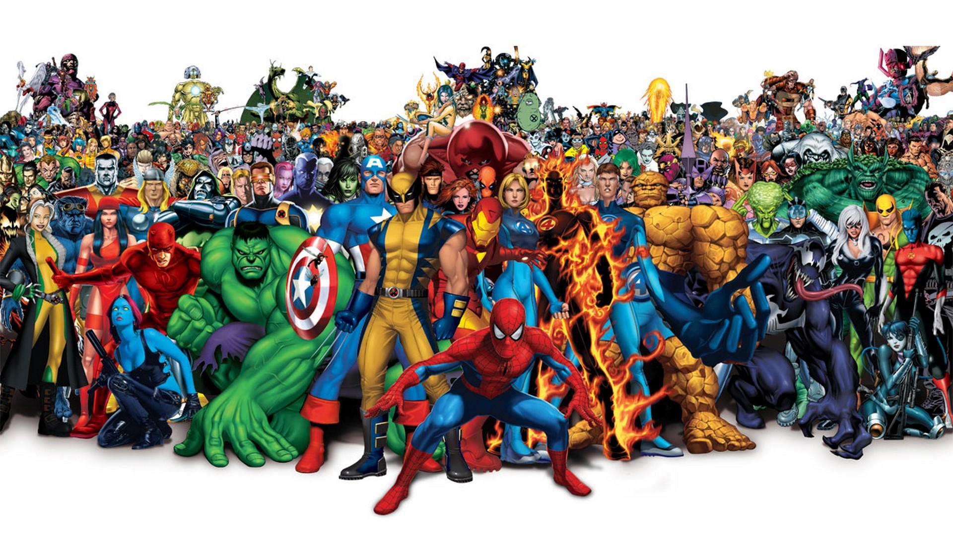 Marvel Команда Супергероев
