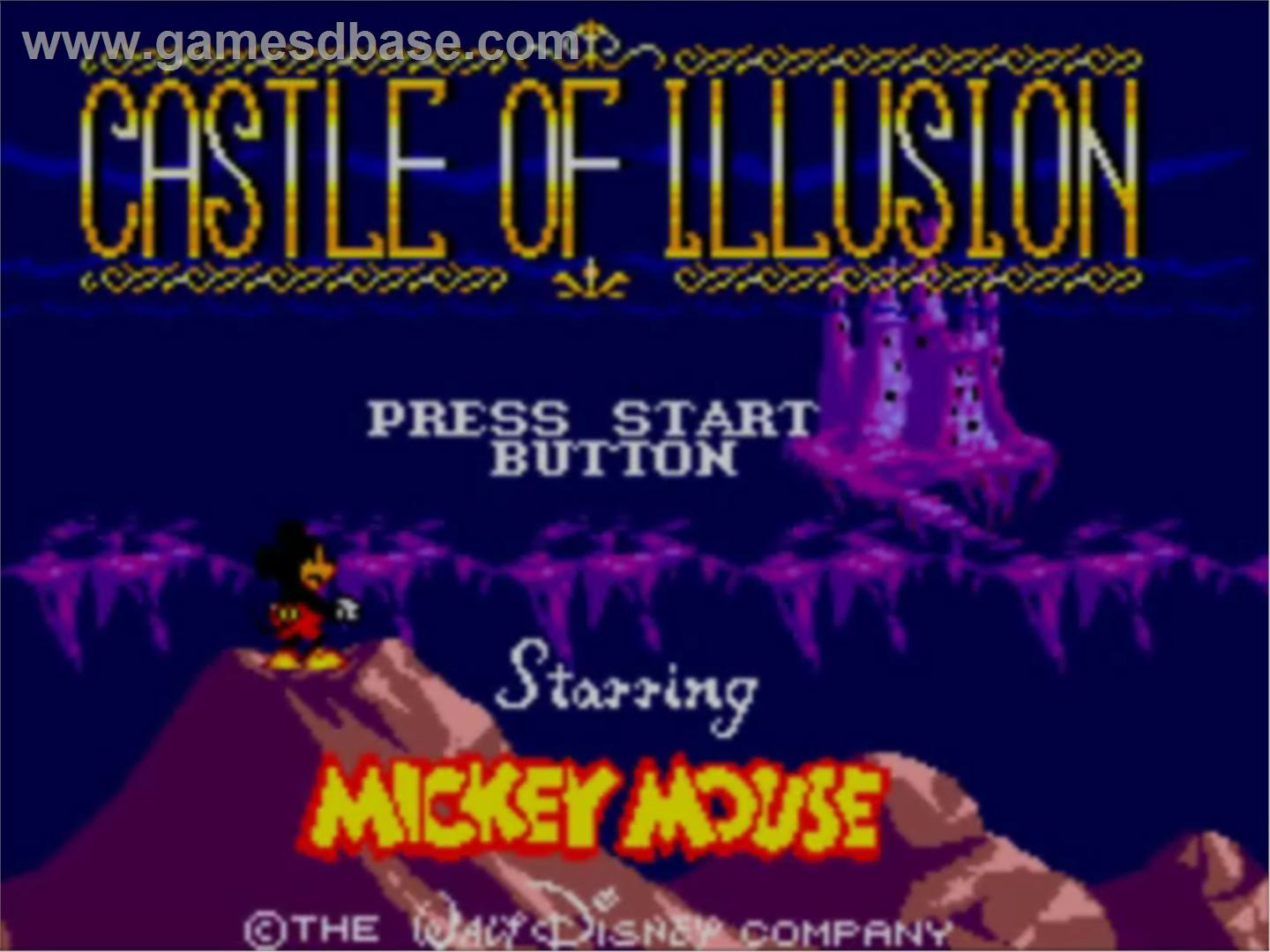 Castle of Illusion Starring Micky Mouse